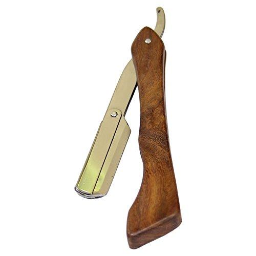 Sr Wood Blade - X-2 Replaceable Blade Barber Salon Men Wood Shaving Razor