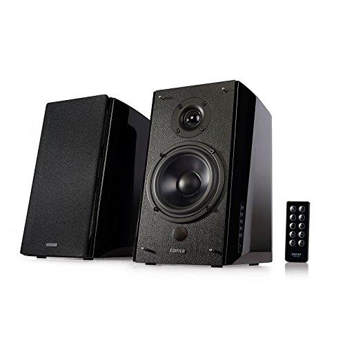 Edifier R2000DB Powered Bluetooth Bookshelf Speakers - Optical Input - Wood (Certified Refurbished) by Edifier