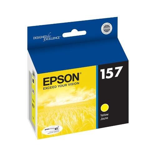 Epson Ultrachrome K3 Yellow Ink - EPST157420 - Epson UltraChrome K3 T157420 Ink Cartridge - Yellow