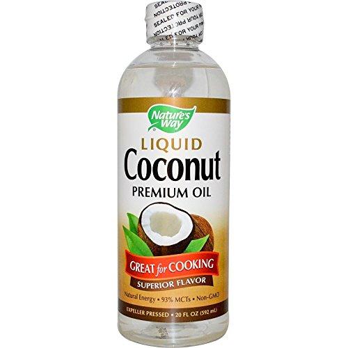Liquid Coconut Premium Oil Nature's Way 20 oz Liquid (Pack of 2)