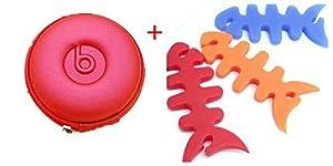 Viskey Headphone Storage Bag and 3 pcs Fishbone Winders from Viskey