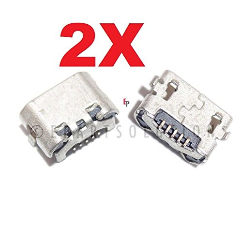 ePartSolution_2X Micro USB Charger Charging Port Dock Connector USB Port for HTC EVO Shift 4G PG06100 Replacement Part USA