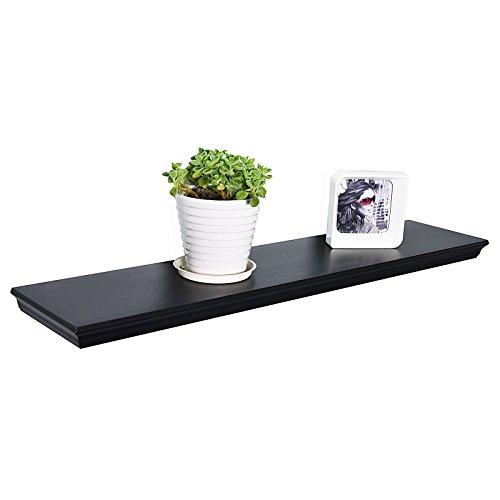 WELLAND Dover Floating Ledge Wall Shelves, 24-inch,