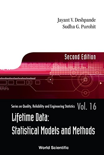 Lifetime Data:Statistical Models and Methods (Series on Quality, Reliability and Engineering Statistics Book 16)