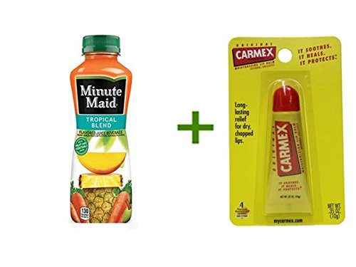 minute-maid-tropical-blend-juice-24-152oz-carmex-moisturizing-lip-balm-tubes-1ct