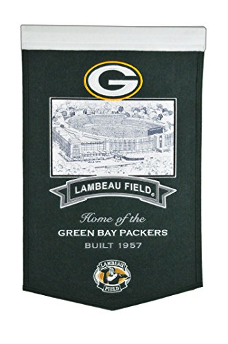 Winning Streak NFL Green Bay Packers Lambeau Field Stadium Collection Banner