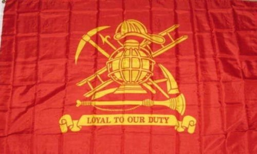 New They Can Be Used Indoors Or Outdoors 3X5 Fire Fighter Loyal To Our Duty Flag 3X5 Banner Grommets Fade Resistant The Authentic Design Is Based On Information From Official Sources