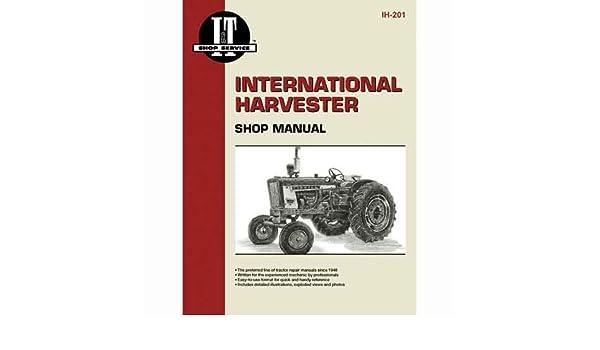 Amazon.com: I&T Shop Manual Collection International 130 130 ... on