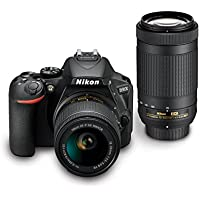 Certified Refurbished Nikon D5600 Double Zoom Lens Kit