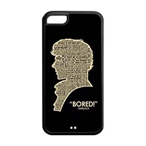 diy phone caseMystic Zone Sherlock Holmes iphone 5/5s Back Cover Case for Apple iphone 5/5s -(Black and White) -MZ5C00358diy phone case