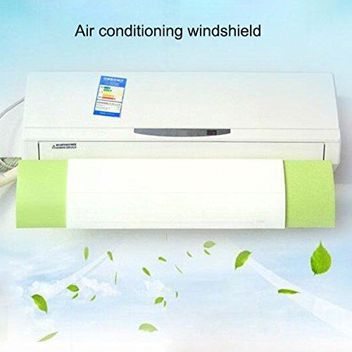 ROKOO Les déflecteurs froids rétractables de bouclier de vent de climatiseur déflament la soufflerie anti-directe confortable