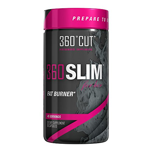 360 Cut 360 Slim for her Fat Burner Dietary Supplement, 90 Capsules (45 servings)