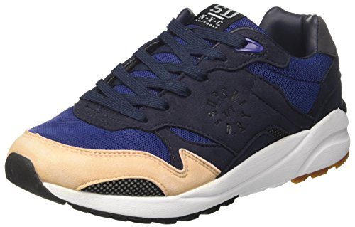 Blu Basso Navy Runner May Nude Sneaker Donna Collo Pink Eclipse a Superdry qCU0wXX