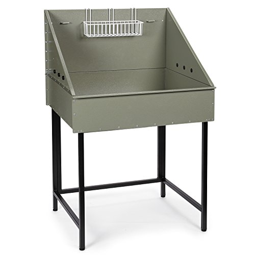 "Pet Edge Master Equipment Clay Color Everyday Pro Mini Tub for Pet Groomers – 32"" Height Provides Comfortable Work Area"