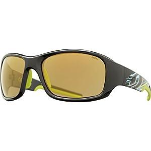 Julbo Stunt Performance Sunglasses, Zebra Lens, Black + Design