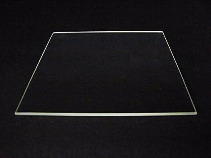HEASEN Borosilicato placa de cristal cama borde pulido 400 mm x ...