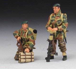 Thomas Gunn Miniatures COMM004 British Army Commandos - Tank Riders