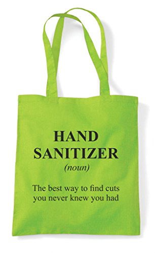 Sanitizer Tote In Bag Not The Hand Definition Funny Dictionary Lime Alternative Shopper Rx68aSq