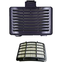 Shark Navigator Lift-Away vacuum cleaner 1pk Hepa Filter With 1pk Navigator Exhaust Filter Cover, Fits Navigator Vacuums Models NV350, NV352