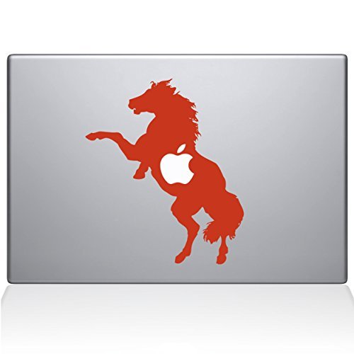 【後払い手数料無料】 The Horse Decal newer) Guru 0158-MAC-15X-P Macbook Bucking Horse Vinyl Sticker 15 Macbook Pro (2016 & newer) Orange [並行輸入品] B078FBPG6Y, 栗山村:f474867c --- a0267596.xsph.ru