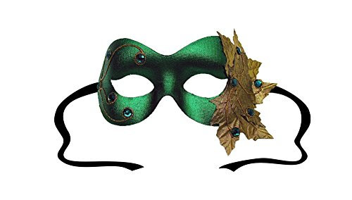 Success Creations Poison Ivy Green Women's Masquerade Mask ()