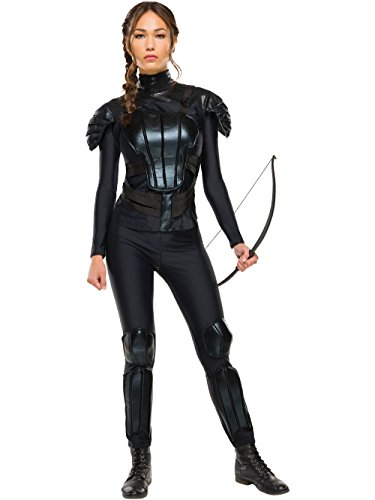 Rubie's Costume Co Women's The Hunger Games Deluxe Katniss Costume, Multi, -