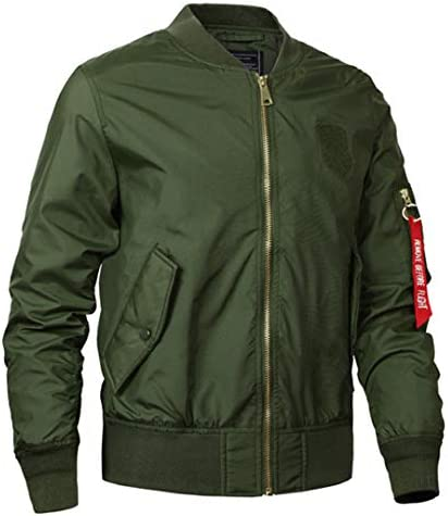 Seikajnkd Men Bomb Jacket Autumn Military Clothing Army Coat for Casual Bombers Windproof Pilot Jacket