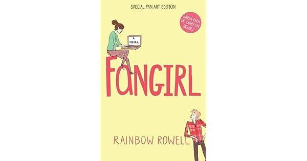 Fangirl: Fan Art Edition: Rainbow Rowell: Amazon ae
