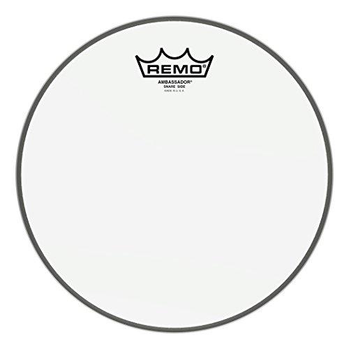 Remo SA0110-00 Hazy Ambassador Snare Drum Head (10-Inch) (Best Sounding Drum Heads)