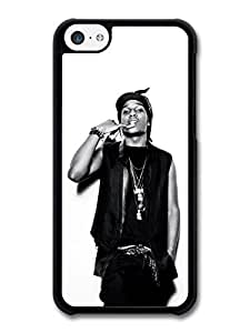 ASAP Rocky Black and White Portrait Showing Teeth case for iPhone 5C by rushername