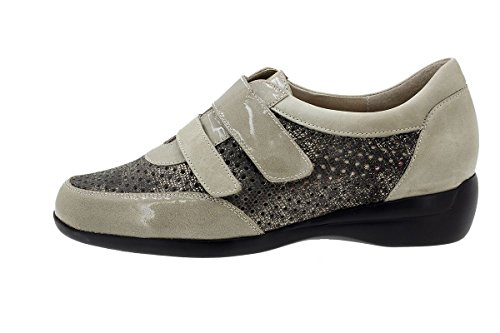 Chaussure Confort Visón Femme Piesanto Chaussures Velcro 180676 Charol q1wWftpR