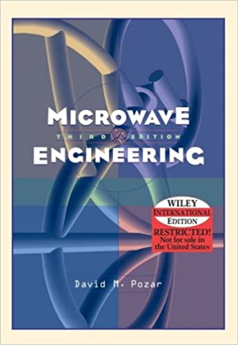 Wie microwave engineering david m pozar 9780471644514 amazon wie microwave engineering 3rd edition international edition fandeluxe Image collections