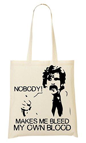 Cp Nobody Bleed My Own Blood Makes Handbag Shopping Bag