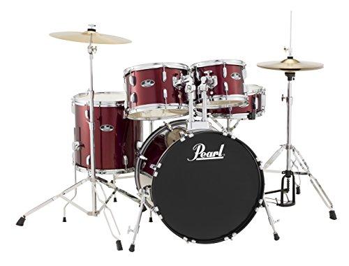 Pearl Roadshow RS505C/C91 5-Piece Drum Set, Wine Red
