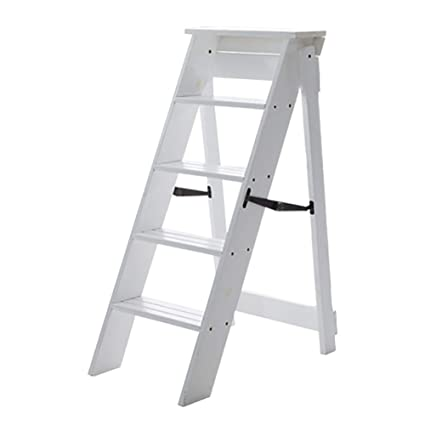 newest 3e17c 69069 Amazon.com: LXF Step stool Multifunction Folding Ladder ...