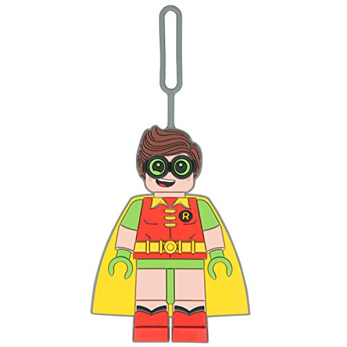 LEGO Batman Movie - Robin Luggage or Backpack Tag