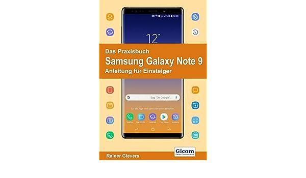 Das Praxisbuch Samsung Galaxy Note 9