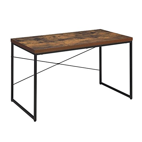 metal and wood desk - 9