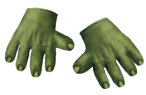 The Hulk Soft Hands Gloves (Incredible Hulk Costumes For Adults)