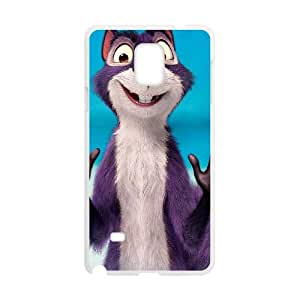 the nut job movie wide Samsung Galaxy Note 4 Cell Phone Case White yyfD-371361