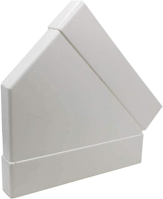 Kair rectangular 234 mm x 29 mm 45 grados horizontal a codo – sys-225 – ducvkc711: Amazon.es: Hogar