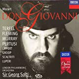Mozart - Don Giovanni / Terfel · Fleming · Murray · Pertusi · Lippert · Groop · Scaltriti · Luperi · LPO · Sir Georg Solti