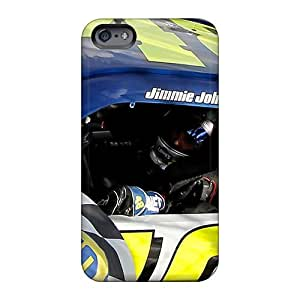Shock Absorption Hard Cell-phone Cases For Apple Iphone 6s Plus (Lcq2437QYAS) Unique Design Fashion Jimmie Johnson Pictures