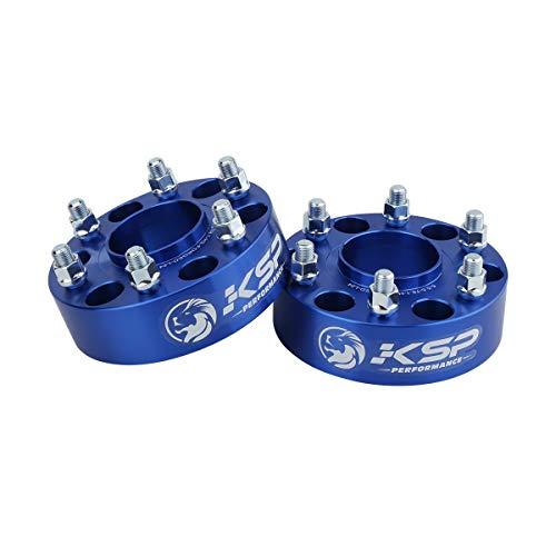 KSP 6X5.5 Wheel Spacers for Chevy Silverado,2