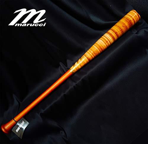 (POSEY28 Custom Pro Maple Baseball Bat, Walnut/Inferno 33