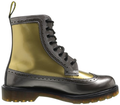 Dr.Martens Harrie Pewter Gold Womens Boots Size 36 EU