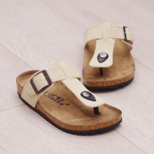 Sandalias de Talón Abierto Niños Sandalias Sand para Niños Albaricoque