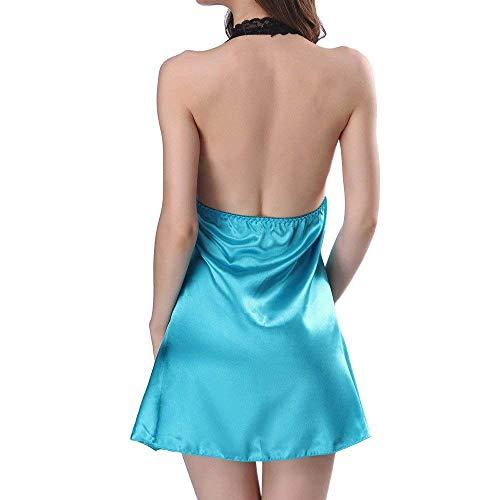 sexy confortables Sous M Lingerie Bleu en couleur vêtements violet dentelle vêtements pour Zhrui taille Sous femmes xEwYqYS0