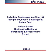 Industrial Processing Machinery & Equipment, Foods, Beverages & Animal Feed United States: B2B Purchasing + Procurement Values in the United States