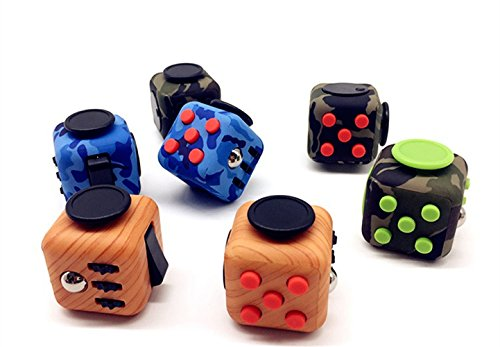 Fidget Cube Toys Relieves Stress and Anxiety for Children and Adults (Jade)